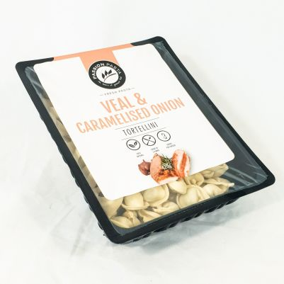 Passion Pasta Tortellini Veal & Caramelised Onion 420g