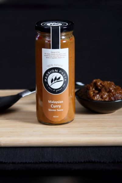 Passion Pasta Sauce Malaysian Curry Simmer 465ml