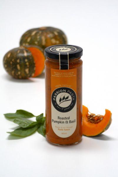 Passion Pasta Sauce Roasted Pumpkin & Basil 465ml (WA)
