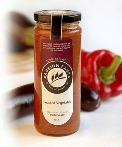 Passion Pasta Sauce Roasted Vegetable 465ml (WA)