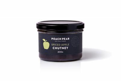 Poach Pear Chutney Spiced Apple 200g (WA & QLD)