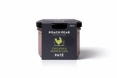 Poach Pear Pate Chicken & Peppercorn 180g