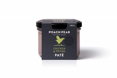 Poach Pear Pate Chicken & Thyme 180g