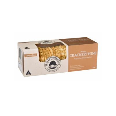 Valley Produce Crackerthins Potato 100g (WA)