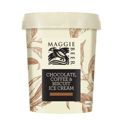Maggie Beer Icecream  Chocolate, Coffee & Biscuit 500ml (WA & QLD)