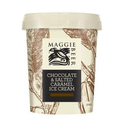 Maggie Beer Icecream Chocolate Salt Caramel 500ml (WA & QLD)