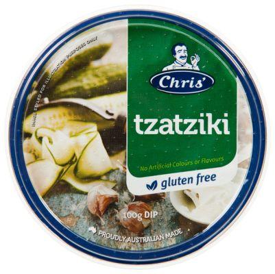 Chris' Traditional Tzatziki Dip 200g (WA)