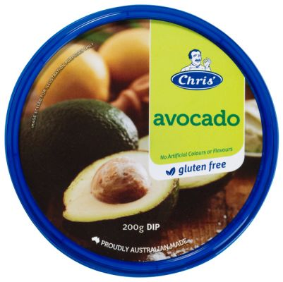 Chris' Traditional Avocado Dip 200g (WA Only)