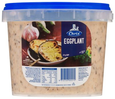 Chris' Traditional Eggplant Dip 2kg (WA)