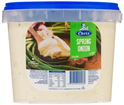 Chris' Traditional Spring Onion Dip 2kg (WA)
