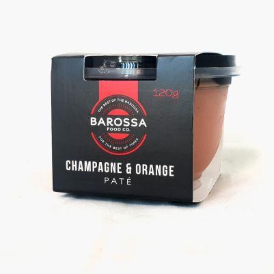 Barossa Food Co. Champagne & Orange Pate 120g (WA)