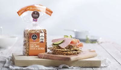 Sigdal Crispbread Wheat Free with Sunflower & Quinoa 190g (WA)