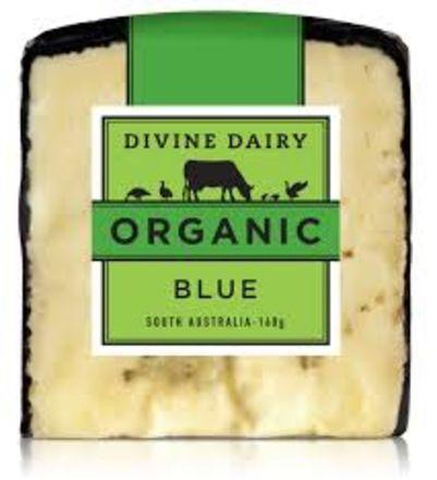 Divine Dairy Organic Blue 160g (WA)