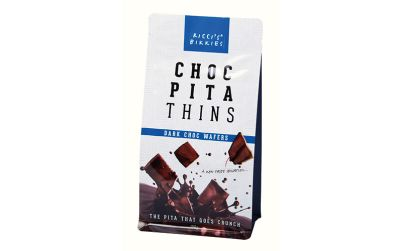 Ricci's Bikkies Dark Chocolate Pita Thins 150g