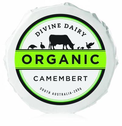 Divine Dairy Organic Camembert 200g (WA)