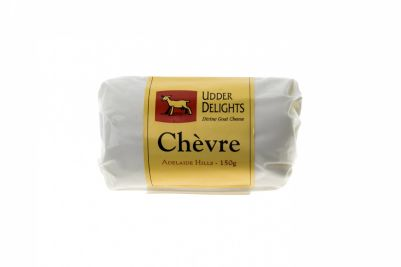 Udder Delights Goat Chevre Log 150g