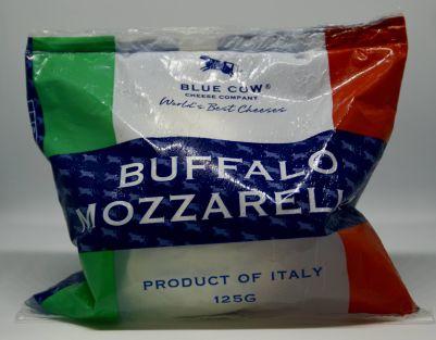 Blue Cow Frozen Italian Buffalo Mozzarella 125g (WA & QLD)