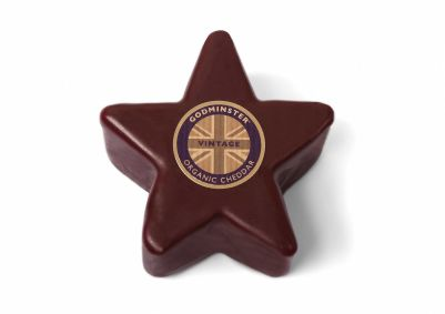 Godminster Vintage Organic Cheddar Star 200g (Only available during the holiday season) (WA & QLD)