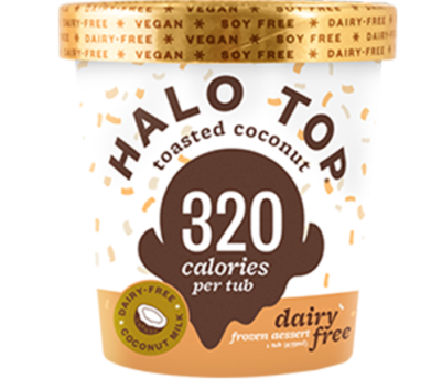 Halo Top DF Toasted Coconut 473ml