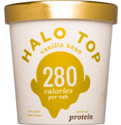 Halo Top Vanilla Bean 473ml (WA & QLD)