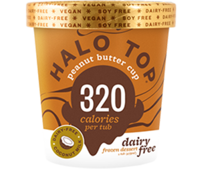 Halo Top DF Peanut Butter Cup 473 (WA & QLD)