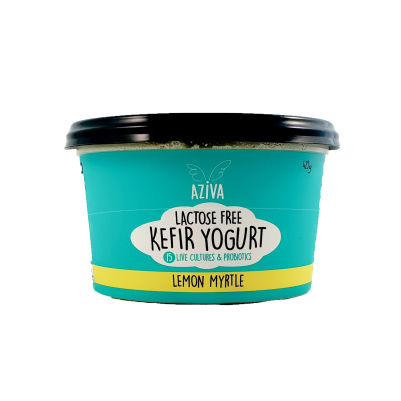 Azive Lactose Free Kefir Yoghurt Lemon Myrtle 425g