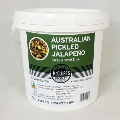 Mclure's Australian Pickled Jalapeños (WA & QLD)