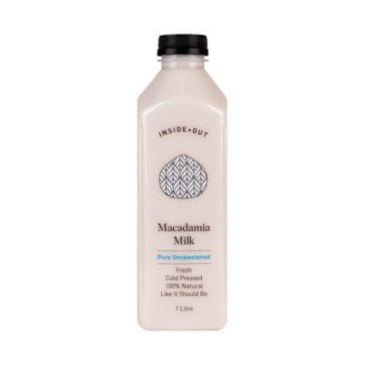 Inside Out Macadamia Pure Unsweetened 1L (WA)