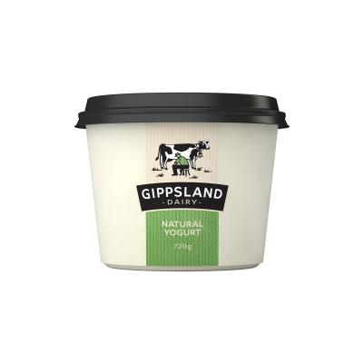 Gippsland Dairy Natural Yogurt 720g (WA)