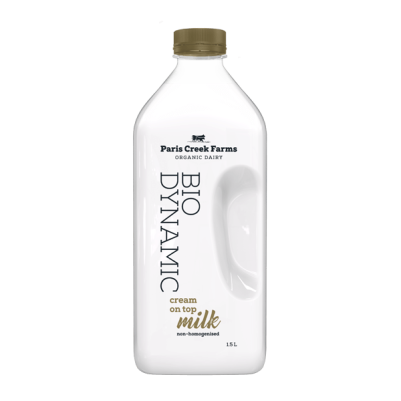 PCF Bio-Dynamic Cream On Top Milk 1.5L