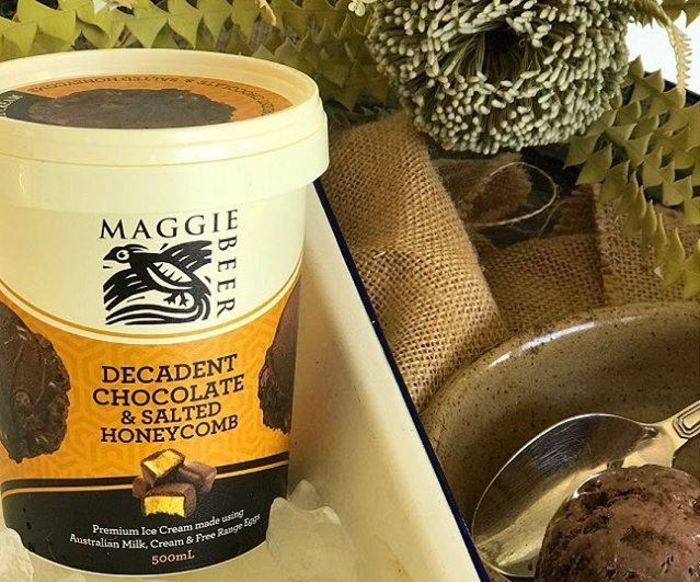 Maggie Beer Decadent Chocolate & Salted Honeycomb Ice Cream 500ml