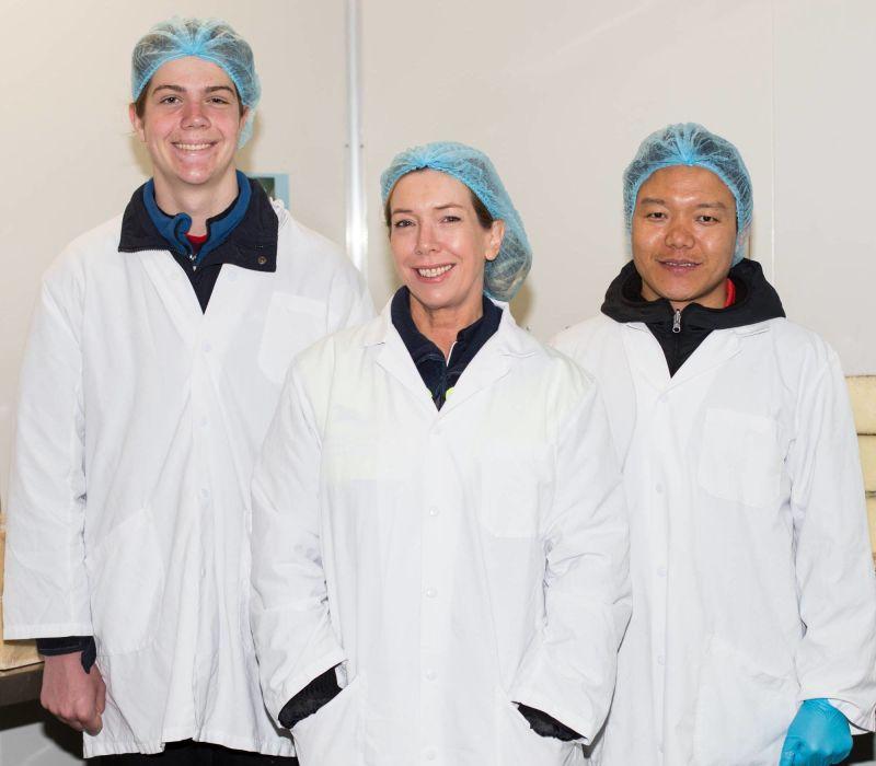 Cheese Cutting Team
