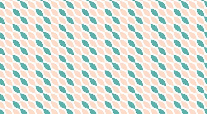 Descargar gratis Papel digital patrón rosado y verde