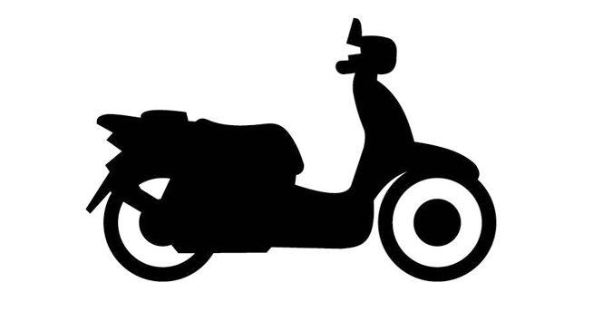 Descargar gratis silueta de moto