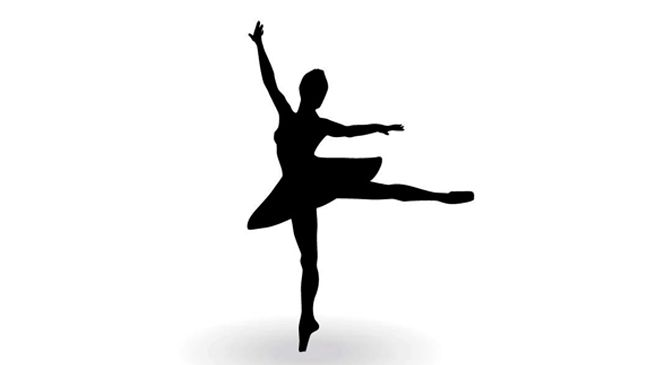 Descargar gratis silueta de bailarina de ballet