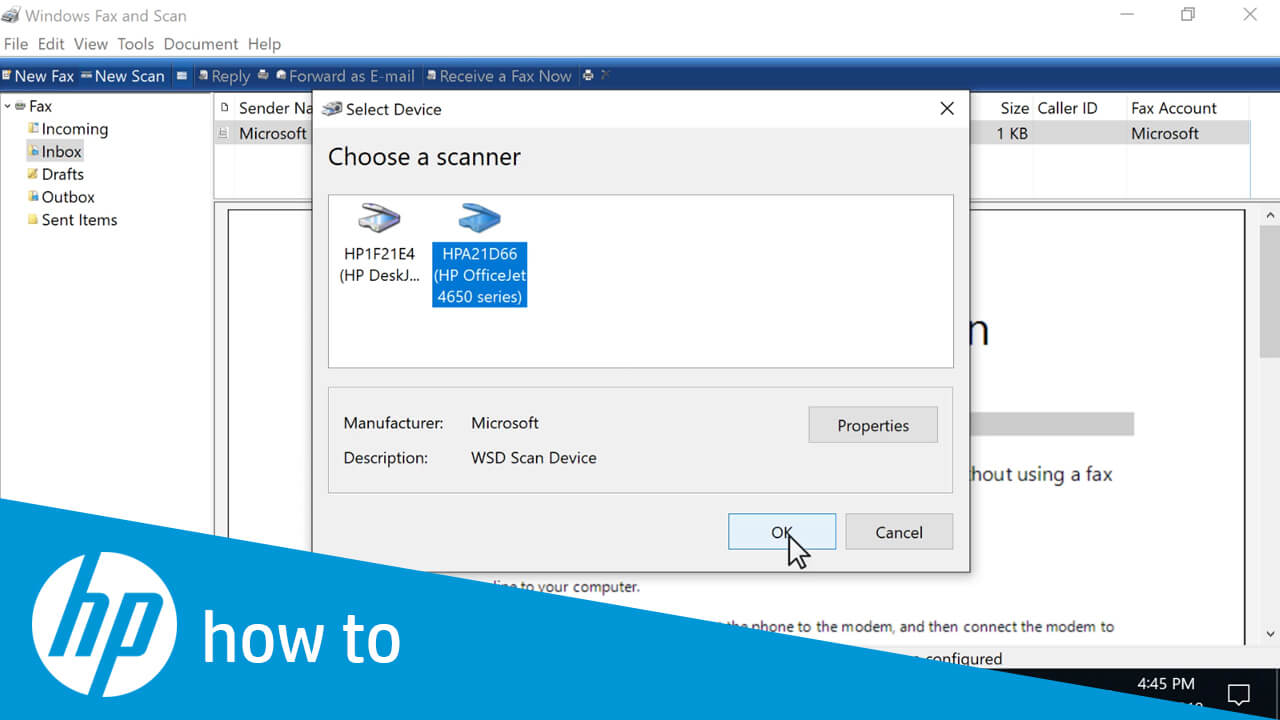 How to Scan From HP Printer