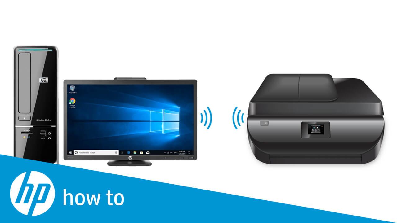 how to setup hp wireless printer