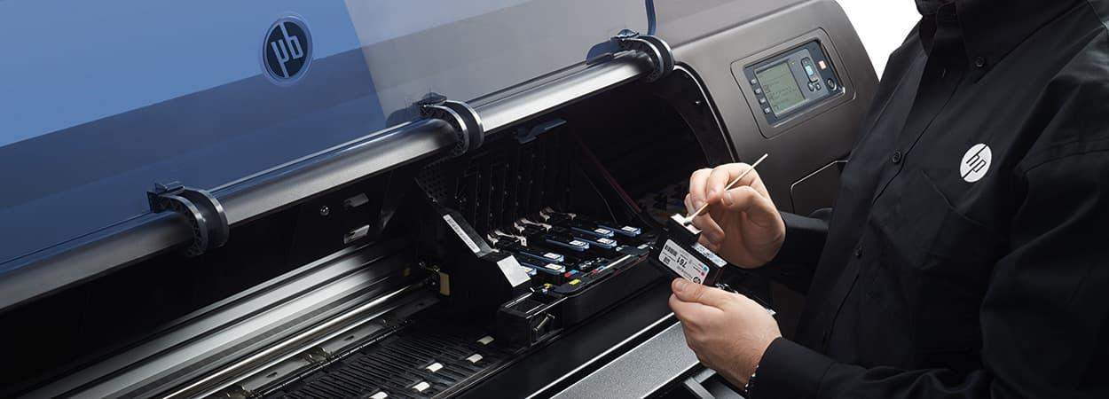 How to Clean An HP Printhead