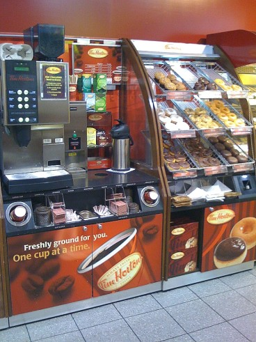 tim hortons in london spar