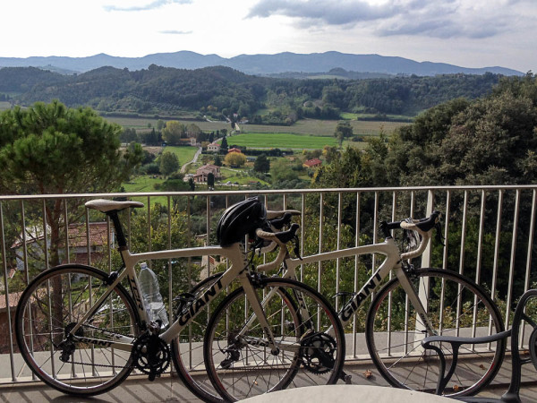 bikes in Tuscany