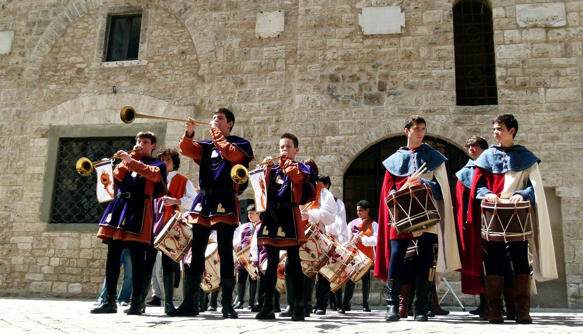 Narni medieval festival Corsa allAnello