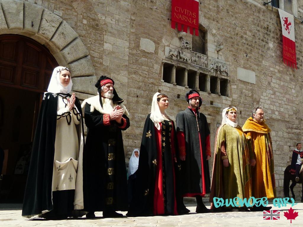 Nari medieval festival Corsa all'Anello