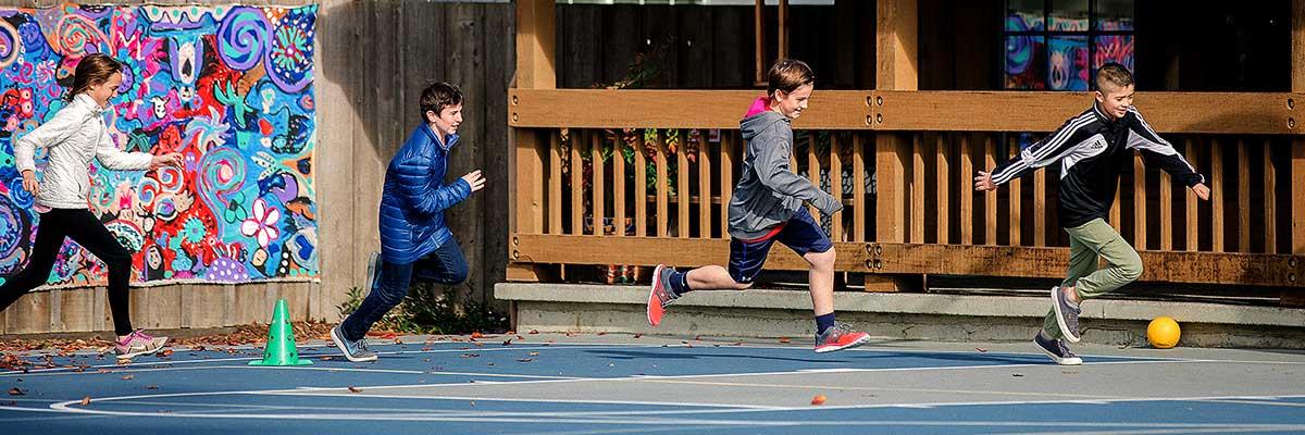 4 Kids Running