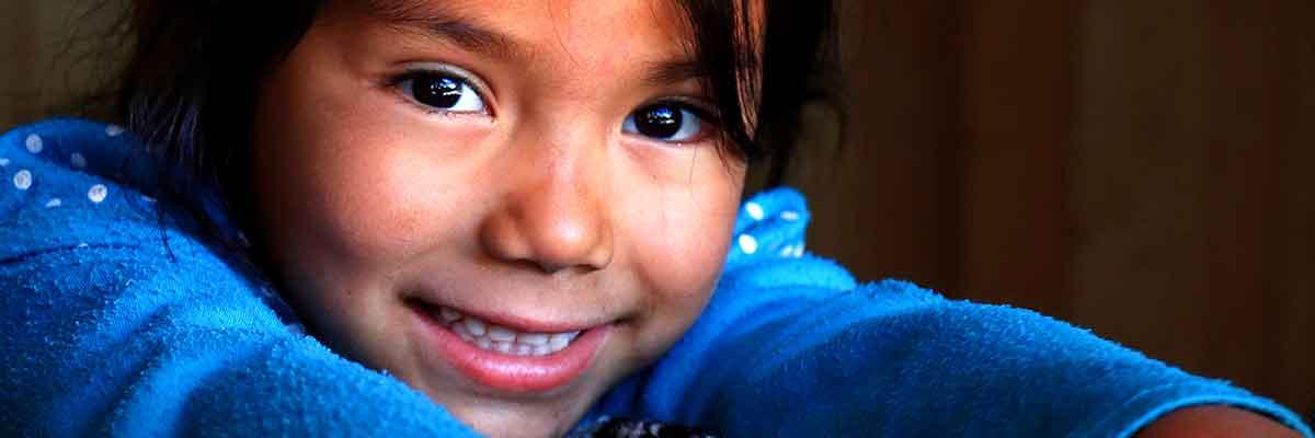 Latina Girl Smiling