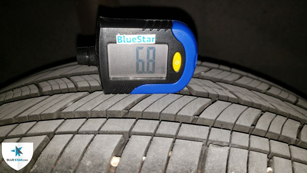 All tires are matching in brand and in near new condition.