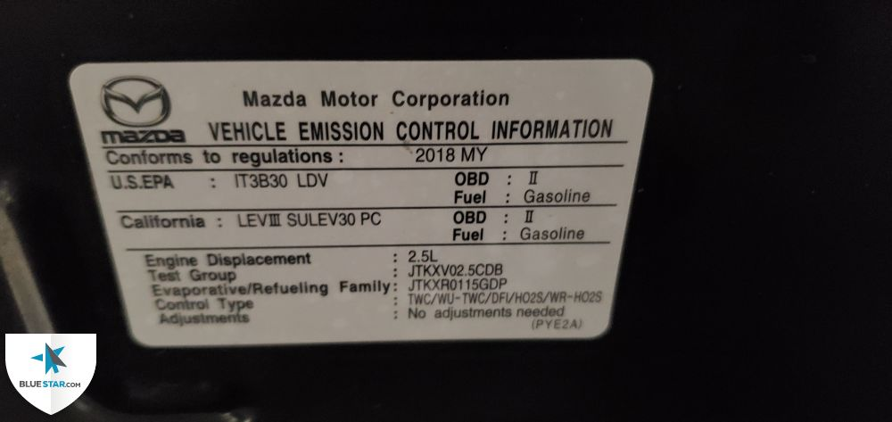 Kia West Covina >> 32 Emission Label Test Group - Labels Database 2020