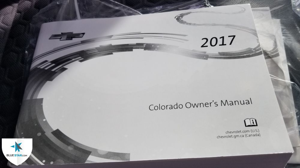 The owner's manual is present.