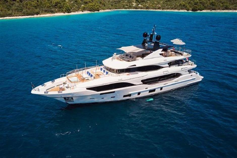 M/Y 2018 Benetti Mediterraneo 116 Yacht #2