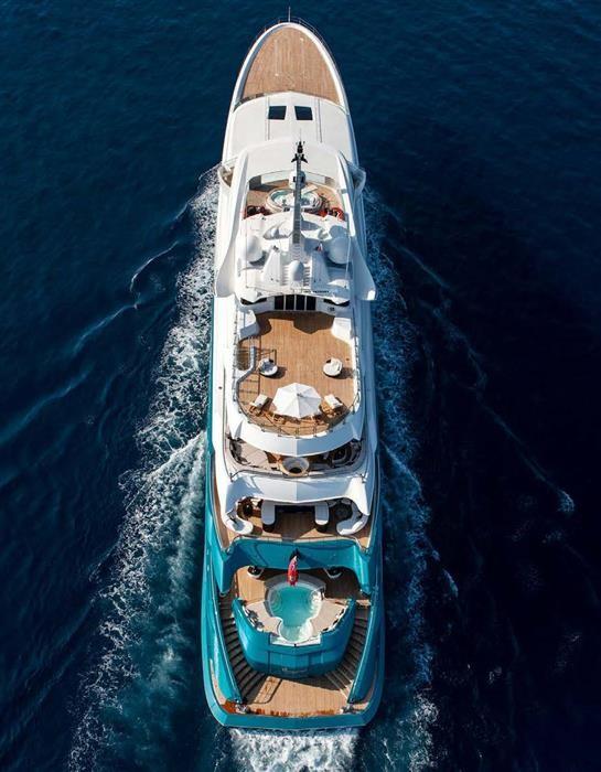 M/Y SUNRAYS Yacht #61