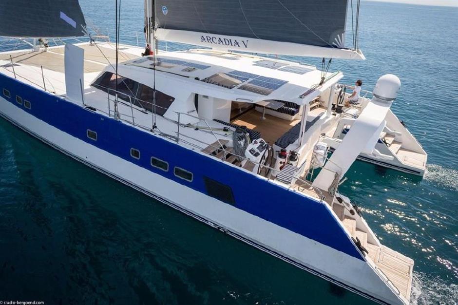 S/Y Arcadia V Yacht #8